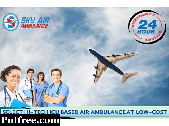 Obtain Safe Patient Shifting from Bhubaneswar by Sky Air Ambulance