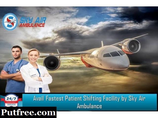 India's Trusted ICU Air Ambulance Service Provider in Raipur