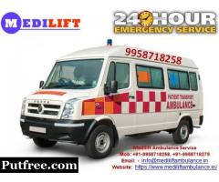 Get Low-Cost Medilift Ground Ambulance Service in Buxar for Best Services