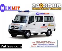Get Medilift Ground Ambulance Service in Bhagalpur for Emergency Services