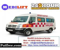 Get Helpful Ground Ambulance Service in Gaya with Best Medical Team - Medilift