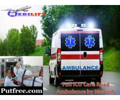 Take India's No.1 Ambulance Service in Patna by Medilift