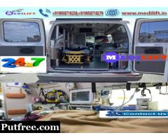 Book Medilift Low Charges Ambulance Service in Madhubani