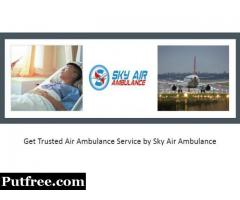 Pick Air Ambulance in Bhubaneswar at a Budget-Friendly Cost by Sky