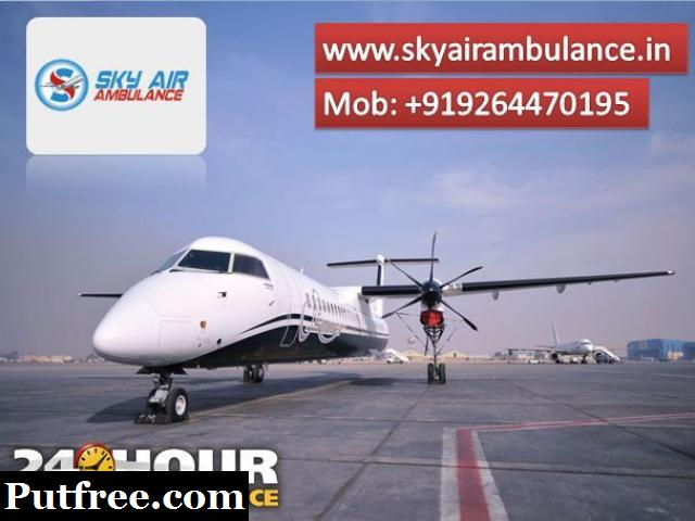 Utilize Air Ambulance from Raipur with Responsible Medical Group
