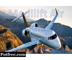 Get the Best Medical Charter Air Ambulance in Varanasi by Medilift