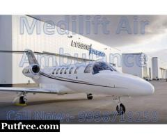 Get Best Charter Air Ambulance in Varanasi with Best Medical Facility - Medilift