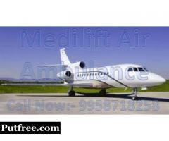 Get Best ICU Facility and Emergency Medical Rescue Air Ambulance in Indore - Medilift