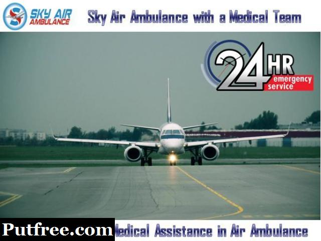 Choose Air Ambulance from Bhubaneswar with Every Advanced Medical Setup