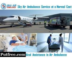 Choose Air Ambulance in Bangalore with Superior Medical Treatment