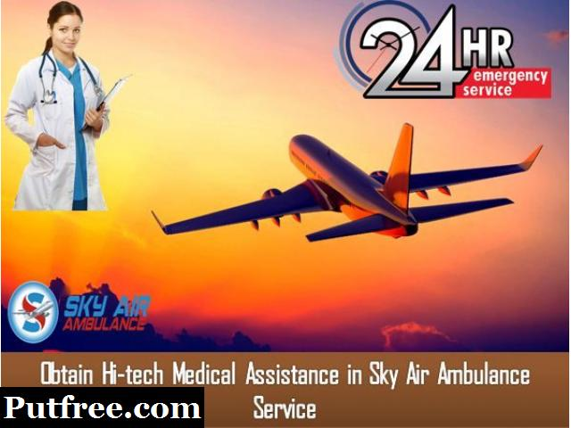 Choose Air Ambulance from Raipur with A to Z Advanced Treatment