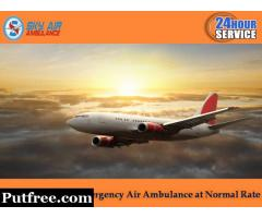 Avail Air Ambulance Service in Siliguri with Incredible Medical Support