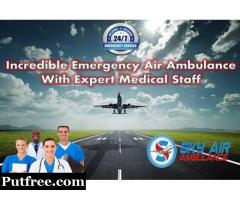 Avail The Finest Medical Support by Sky Air Ambulance in Jabalpur