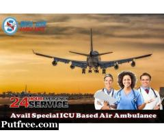 Utilize on Rent Air Ambulance Service in Bagdogra at Pocket Price
