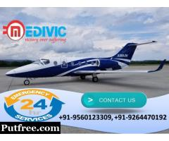 Get Topmost Emergency Service by Medivic Air Ambulance in Delhi