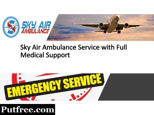 Choose Air Ambulance in Brahmpur with Unique Medical Features