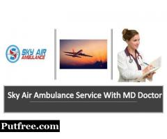Book Air Ambulance from Chandigarh with Advanced Medical Instruments