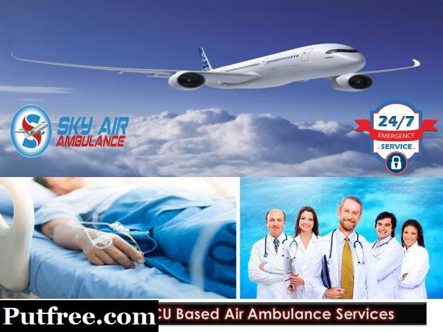 Get Air Ambulance Service in Agra with Entire Medical Facility