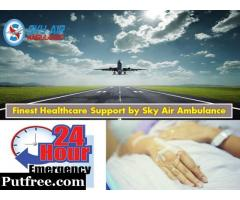 Utilize Air Ambulance Service in Ahmedabad with Monitoring Tools