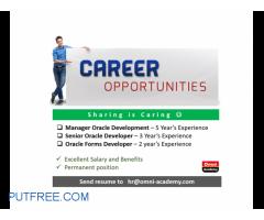 Excellent Career Opportunities - Omni Academy