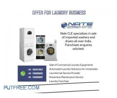 Commercial Laundry Equipment's Sales PAN India