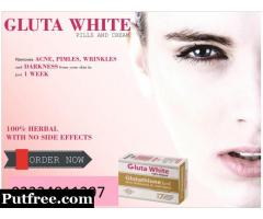 GLUTA WHITE REVIEWS WHITENING PRODUCT PRICE IN PAKISTAN-03334811297