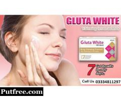 No.1 Skin whitening Brand (Gluta white) in Pakistan-03334811297