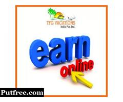 100 Candidates required for online Part Time Jobs