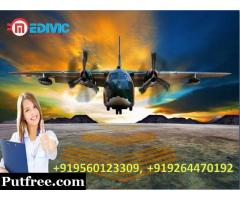 Now Take Best-Rated Emergency Air Ambulance from Delhi by Medivic