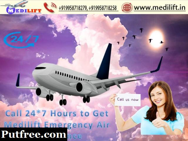Avail Reliable Cost Medilift Air Ambulance Service in Chennai
