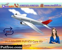 Now Take Medilift Air Ambulance Service in Bangalore