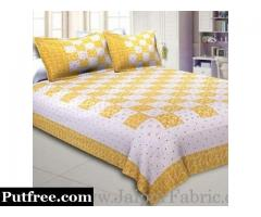 Buy Online Yellow Color Bed Sheets To Revive Your Bedroom