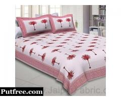 Purchase Online Pink Color Bed Sheets At Reasonable