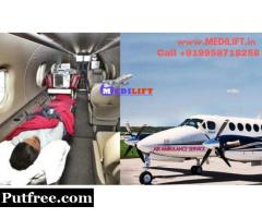 Affordable Medilift Air Ambulance Service in Ranchi