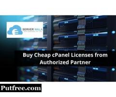 Buy Cheap cPanel Licenses from Authorized Partner