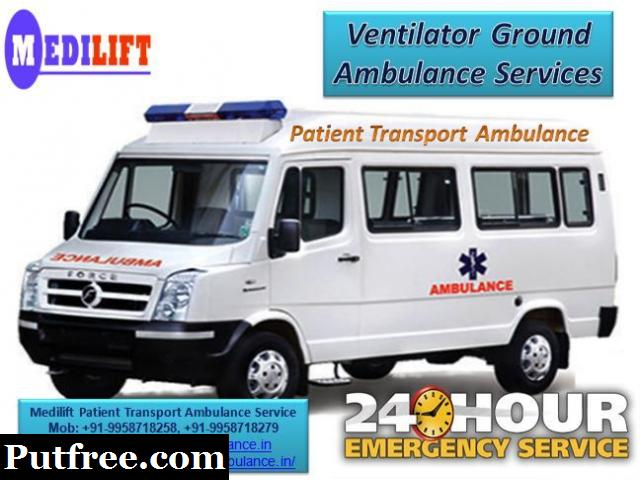 Available Emergency Cardiac Ground Ambulance Service in Varanasi with ICU Facility