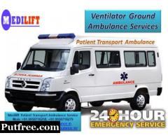 Available Emergency Cardiac Ground Ambulance Service in Varanasi with ICU Facility