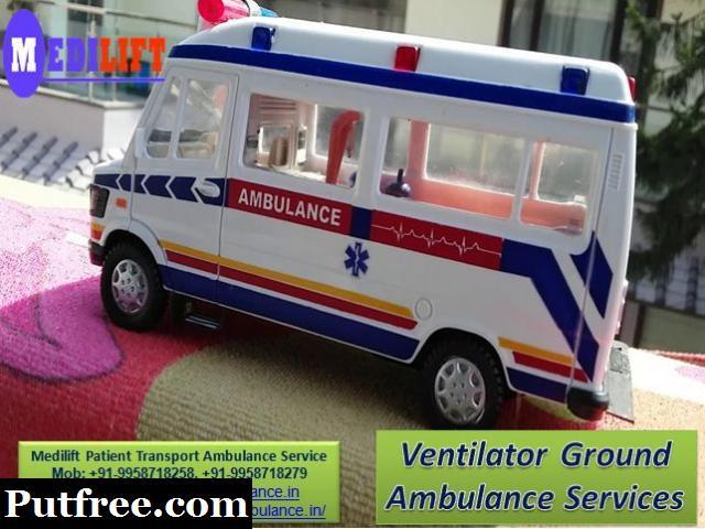 Get Medilift Cardiac Ground Ambulance in Bokaro for Emergency Medical Facility