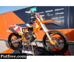 2020 Factory KTM Graphics Kit – From Factory MX Graphics