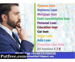 We Offer Personal Business Loans Services Around The World