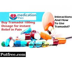 Buy Tramadol 100mg Dosage : Uses and Treatments