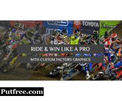 Factory Graphics Kit Under Customised Lot From Factory MX Graphics