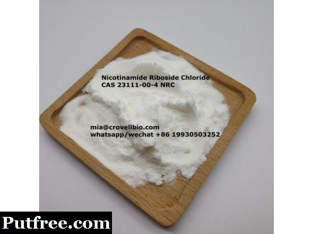 CAS 23111-00-4  Nicotinamide Riboside Chloride   NRC ( mia@crovellbio.com