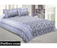 Tribal Art Printed Double Bed Sheets