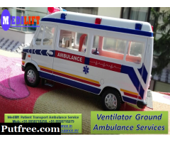 Medilift Ambulance in Ranchi with Best Medical Team for Patient Transfer