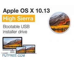 APPLE MAC Os X, Lion, Sierra, yosemite, leopard bootable pendrive and cd avaiable
