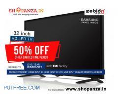 Get 50% off on HD LED TV