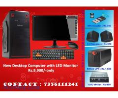Special Offer for New Computers... Rs.9,900/-only with warranty