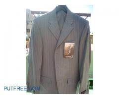 Brand new business suit- unused- complete set (pants+hanger+dustproof cover)-no defects guaranteed