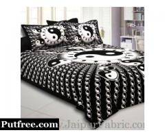 Buy Charming Black Colored Bed Sheets For Your Home